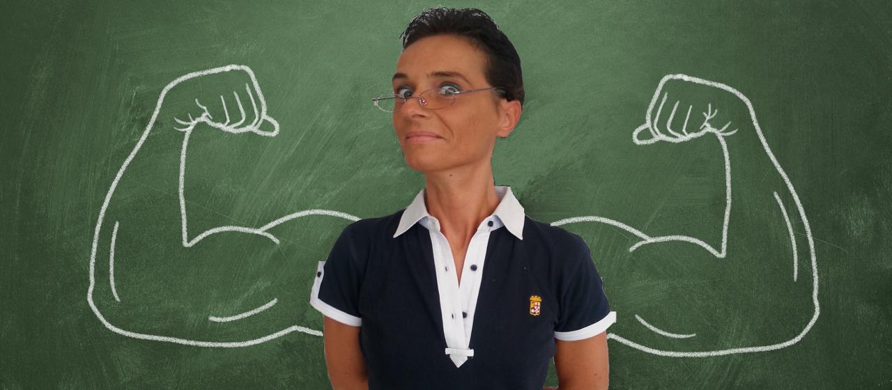 foto insegnante forte