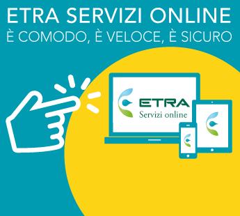 Registrati nella sezione Servizi online